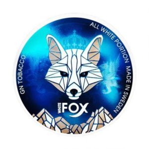WHITE FOX Snus White Fox Mint